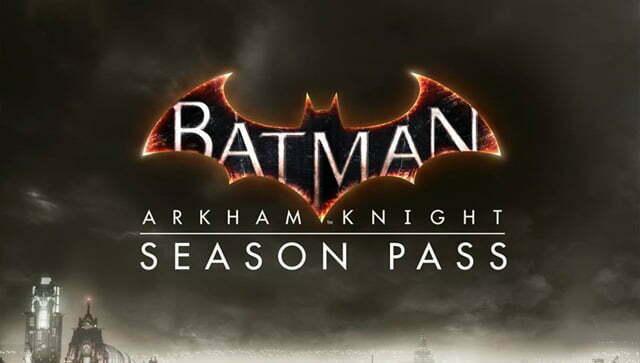 Batman Arkham Knight Season Pass